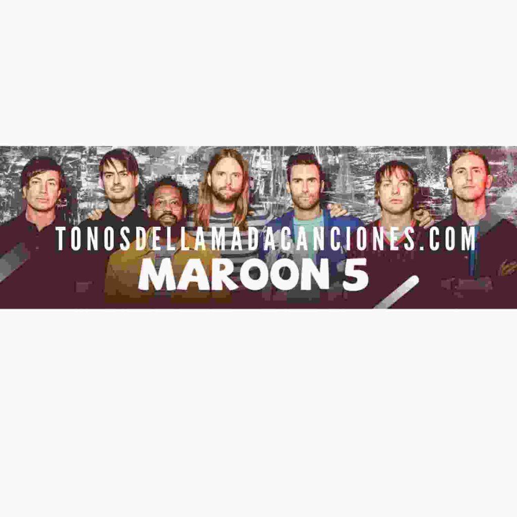 La canción Maroon 5 es un tono de llamada gratis para Android y IOS.