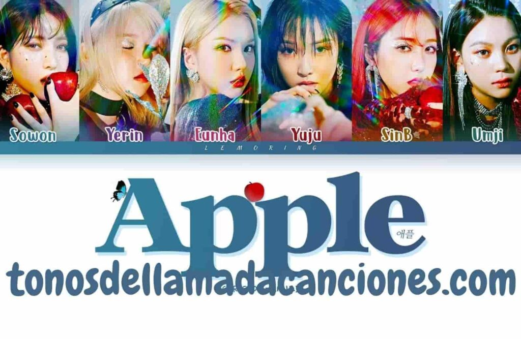 Tonos de llamada para teléfonos Apple del grupo Gfriend