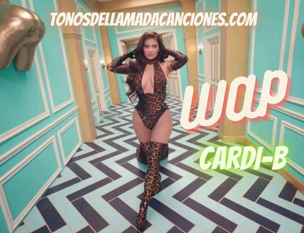 Tono de llamada de una descargar canciones Wap de Cardi-B